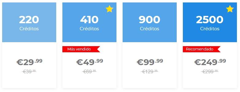 derecho a roce precios creditos